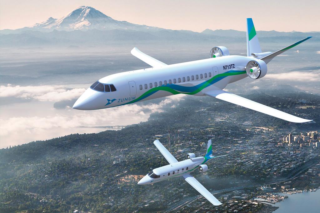 <strong>Existem mais de 200 aviões elétricos ou híbridos em desenvolvimento.</strong>