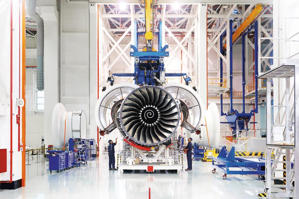 <strong>Desde o lançamento, em 1995, a família de motores Trent ganhou sete versões – cada vez maiores e econômicas.</strong>