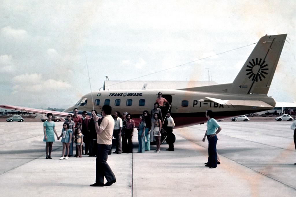 <strong>A extinta Transbrasil foi a primeira companhia a operar um Embraer.</strong>