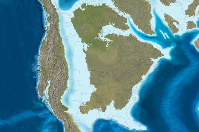 A relação entre um evento geológico e o resultado das eleições dos EUA