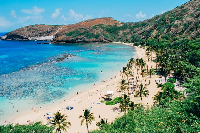 Depósitos de água doce no havaí