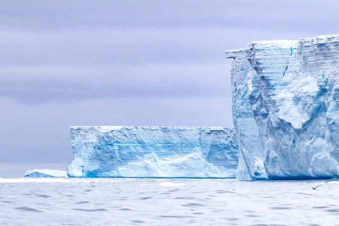 Maior iceberg do mundo está em rota de colisão com Geórgia do Sul