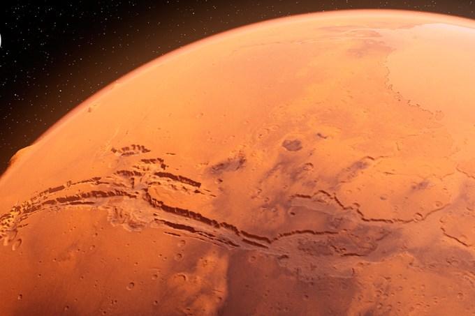 Experimentos da ISS mostram como micróbios podem ser usados para mineração em Marte
