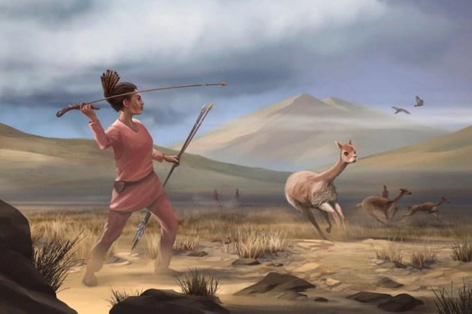 Mulheres também caçavam na América pré-histórica, sugere estudo