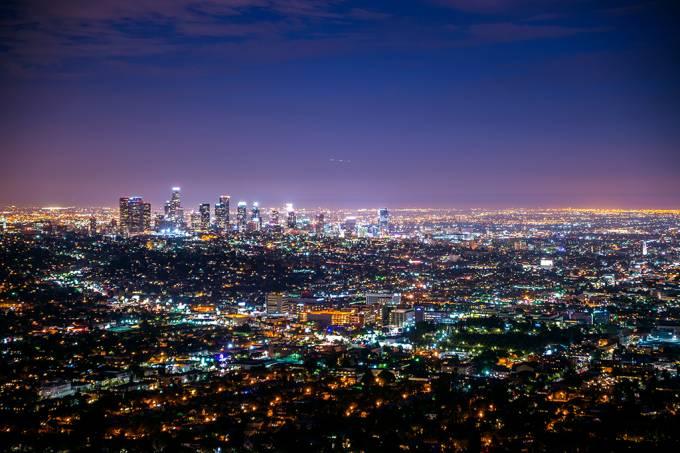 ORCL | Por que as luzes da cidade no horizonte parecem piscar?
