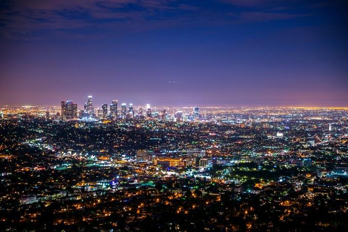 ORCL   Por que as luzes da cidade no horizonte parecem piscar?