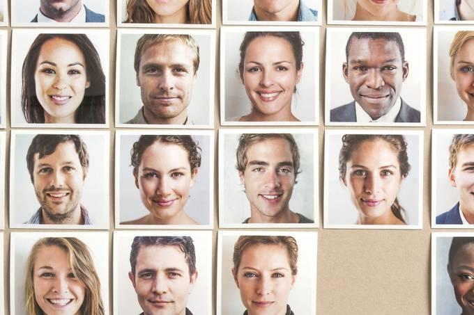 Teste de reconhecimento de rostos