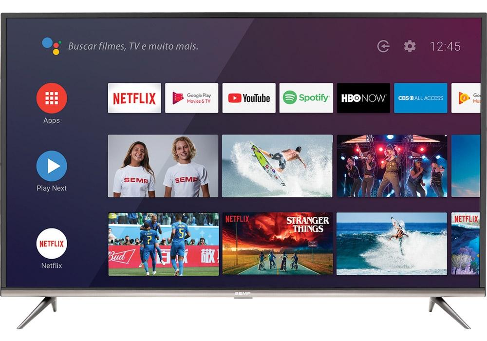 "Smart TV Semp TCL 4K 50"""