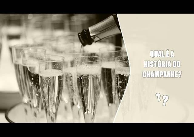 A história do champanhe