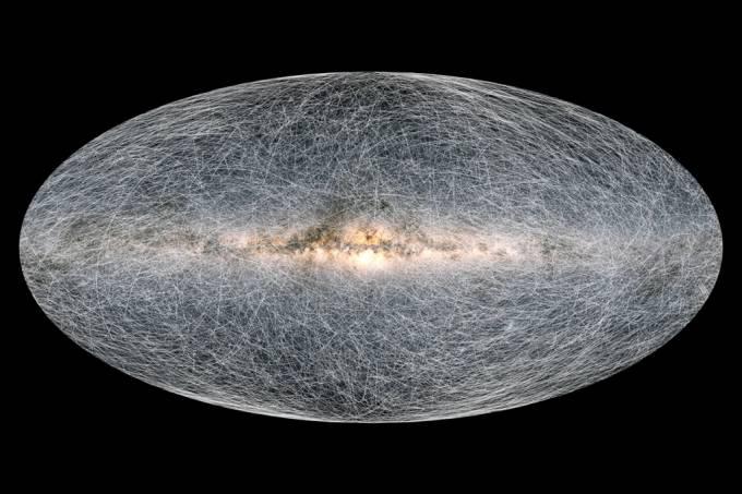 Astrônomos revelam o mapa 3D mais detalhado da Via Láctea