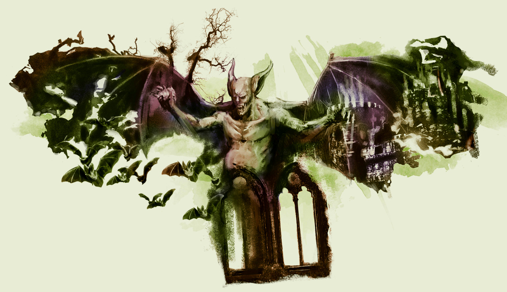 <strong>A maior parte das culturas via os vampiros como uma espécie de demônio.</strong>