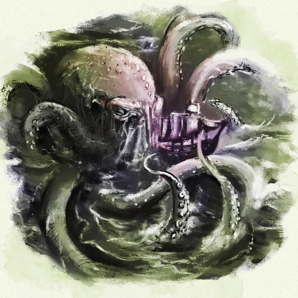 <strong>Krakens tinham o tamanho de ilhas para os vikings.</strong>