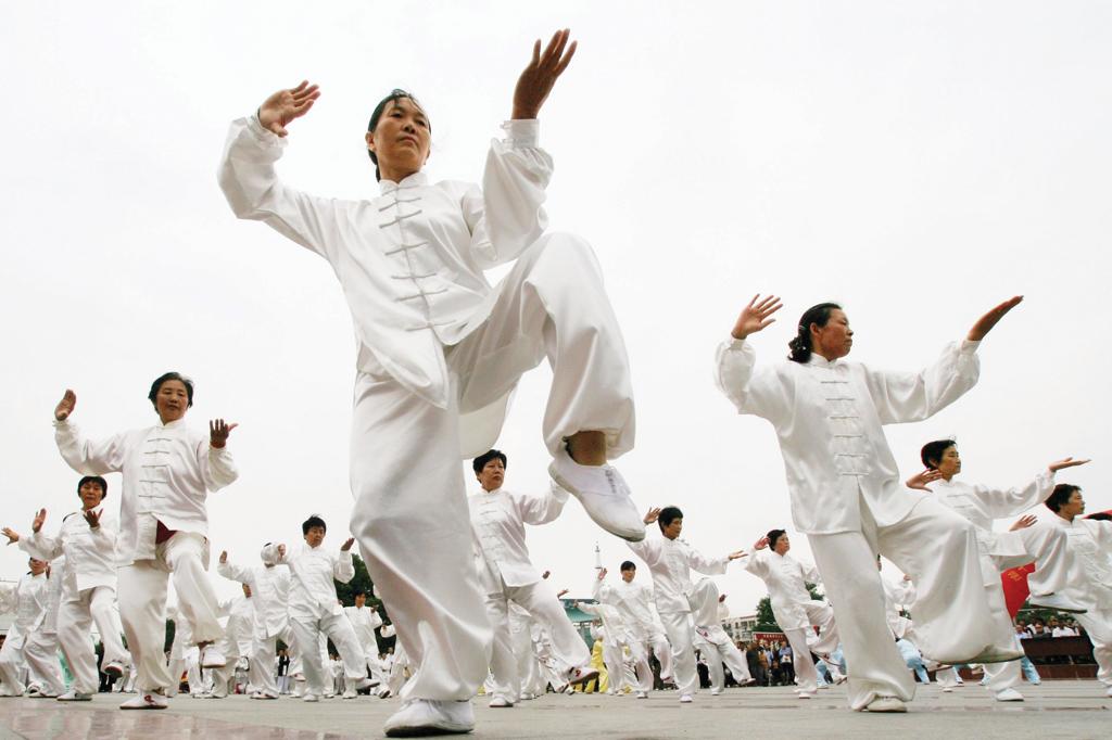 <strong>A prática do tai chi chuan busca o equilíbrio com a natureza pregado pelo Tao. </strong>