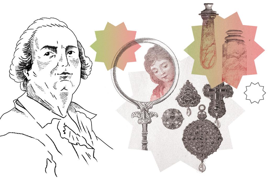 Ilustração de Conde Cagliostro.