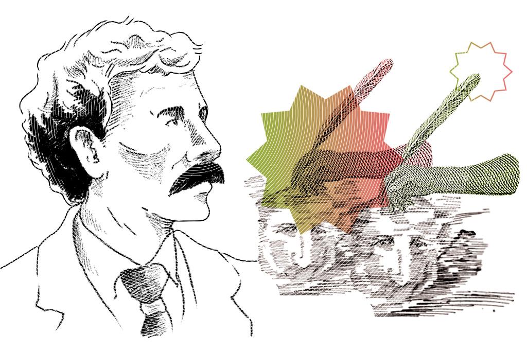 Ilustração de George Albert Smith.