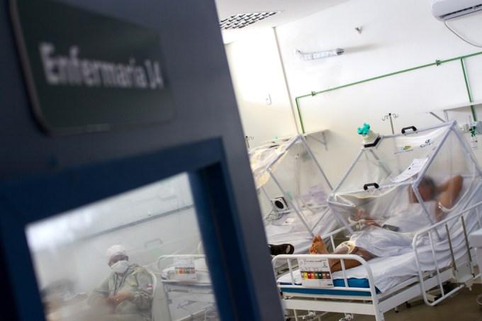 Variedade de coronavírus vinda do Japão é detectada no Amazonas