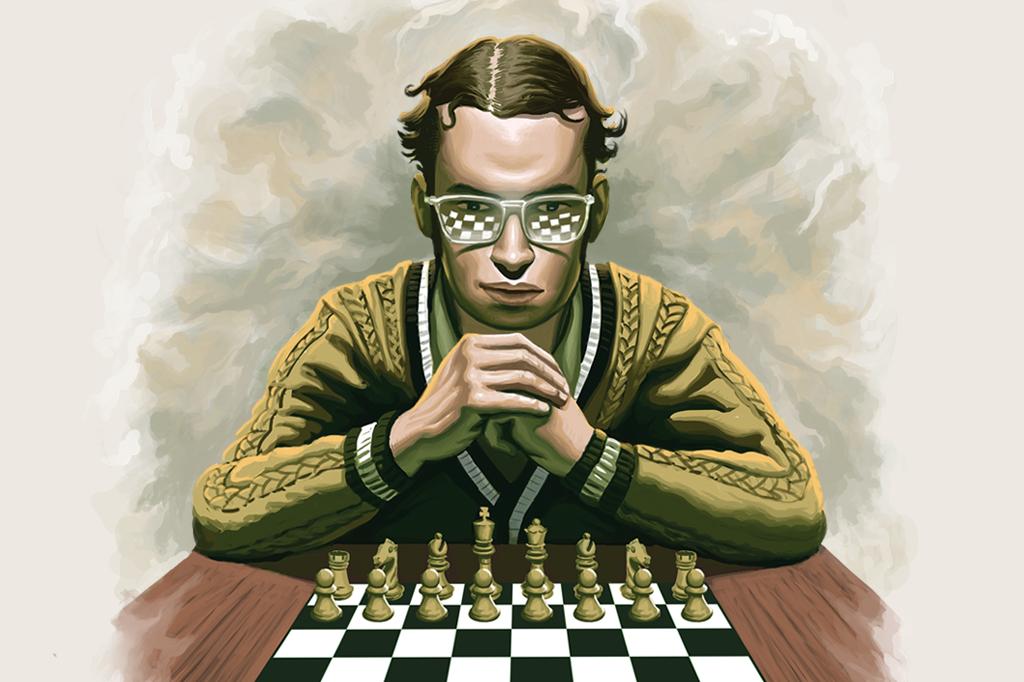 Mequinho: aos 19 anos, o prodígio se tornou o primeiro Grão-Mestre brasileiro.