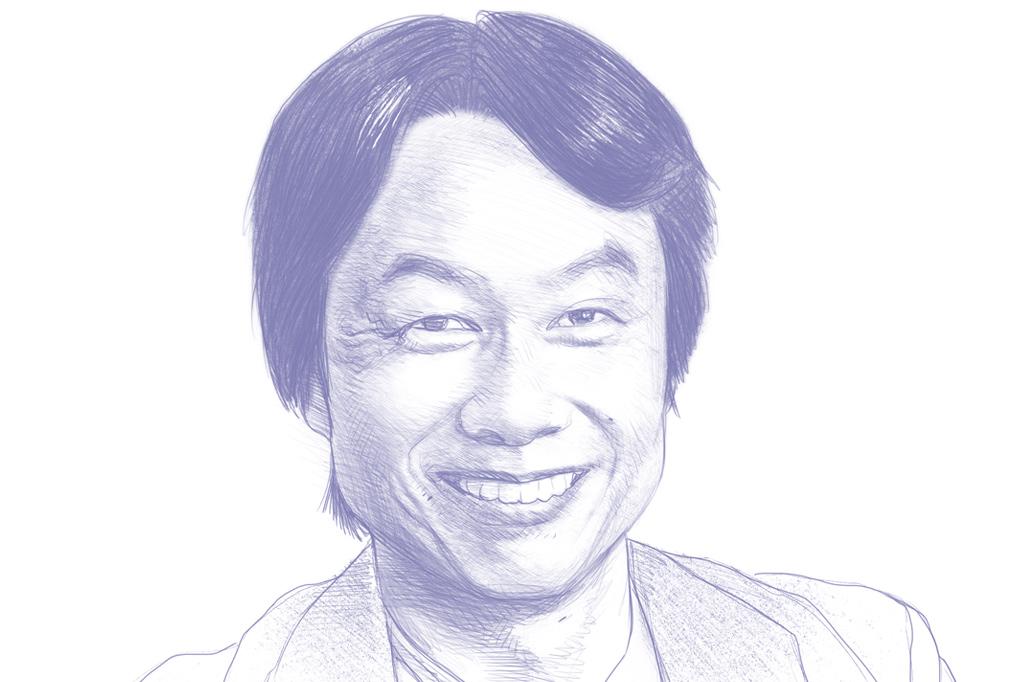 Gênios dos vídeo games. Shigeru Miyamoto