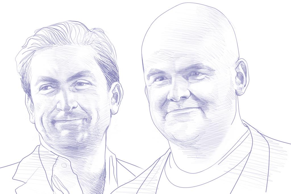 Gênios dos vídeo games. Sam e Dan Houser.