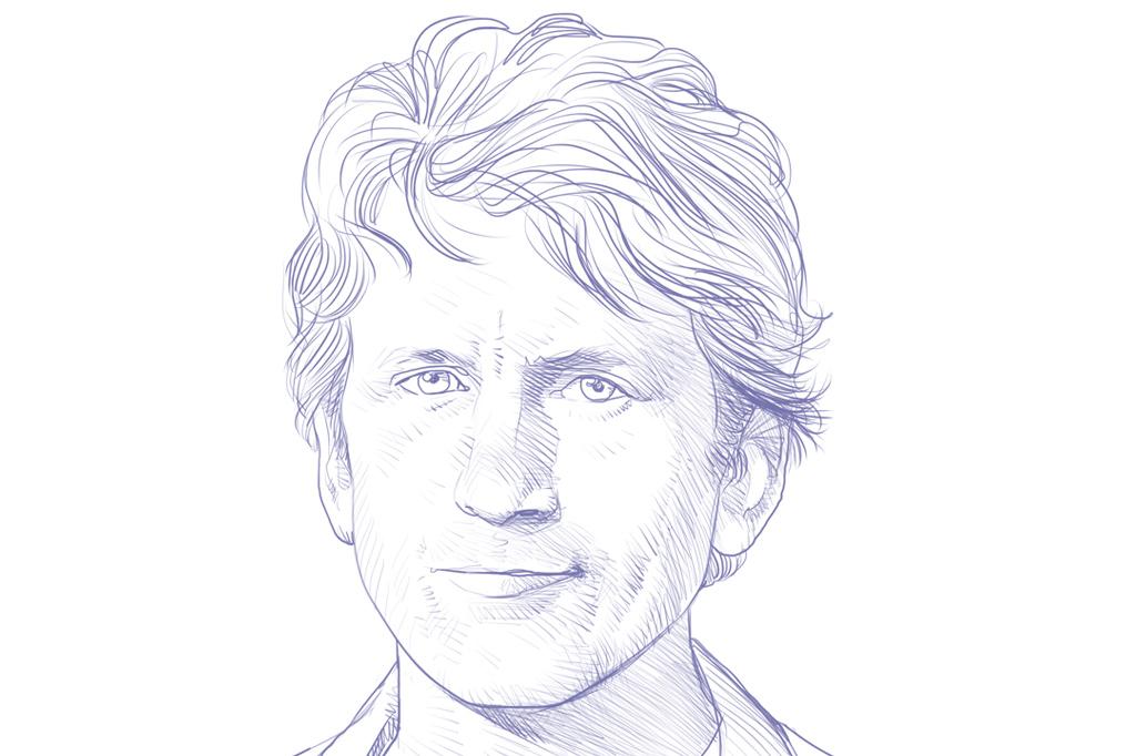 Gênios dos vídeo games. Todd Howard.