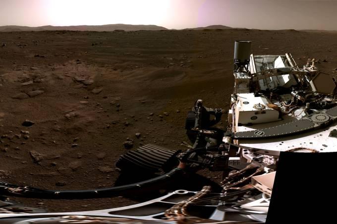 Ouça primeiro áudio de Marte já gravado enviado pelo rover Perseverance