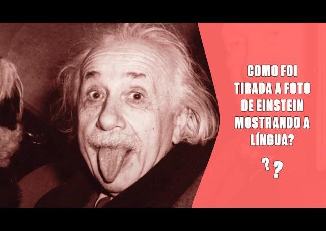 Como foi tirada a foto de Einstein mostrando a língua? | SUPER Responde
