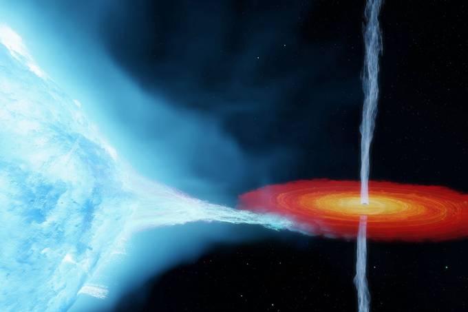 Cygnus X-1, o primeiro buraco negro encontrado, é maior do que pensávamos