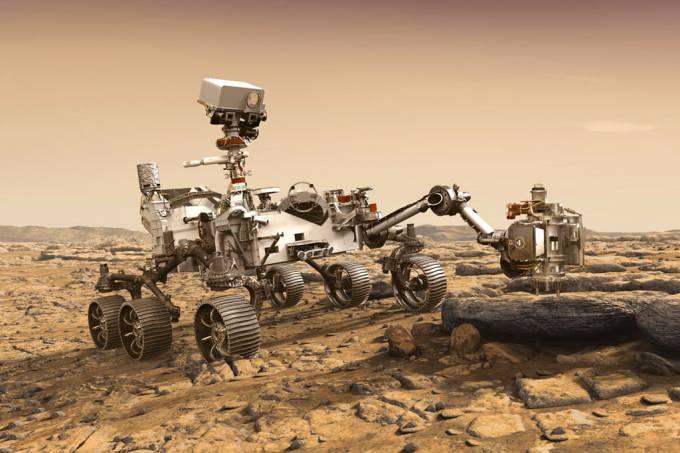 Rover Perseverance da Nasa pousará hoje em Marte