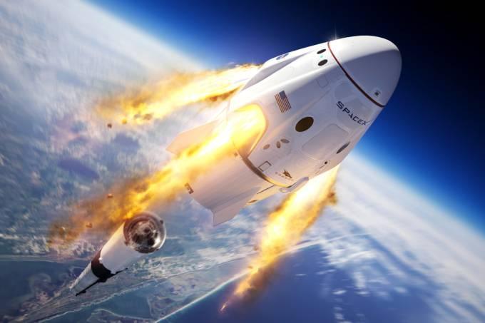 Bilionário irá sortear uma viagem para o espaço