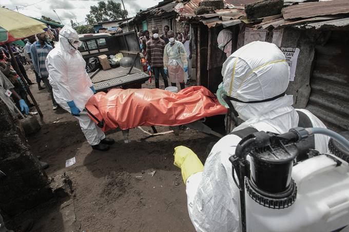Paciente infectado há 5 anos pode ter iniciado última epidemia de ebola