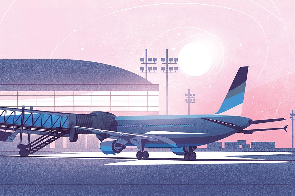 Asas cortadas: 387 aviões de 59 companhias aéreas ficaram suspensos de voar ao redor do mundo.