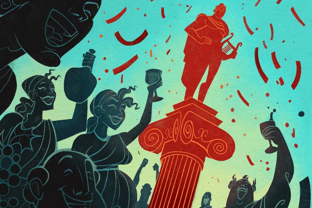 Em um festival em homenagem ao deus Apolo, um casal era escolhido como bode expiatório – e expulso da cidade.