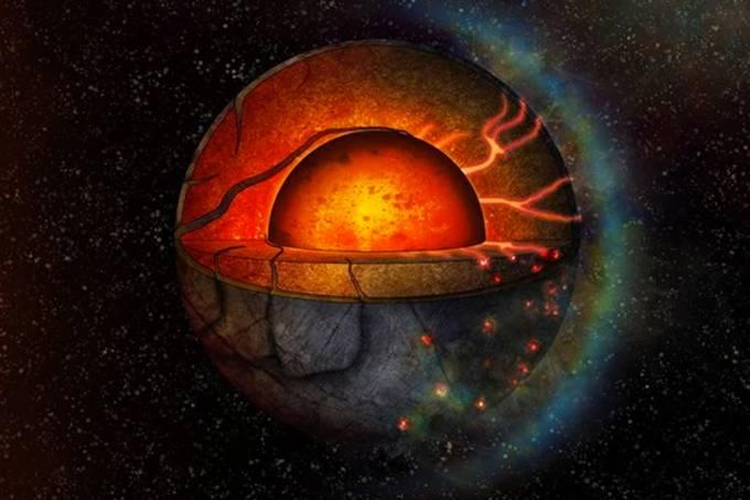 Astrônomos encontram primeira evidência de atividade tectônica em um exoplaneta