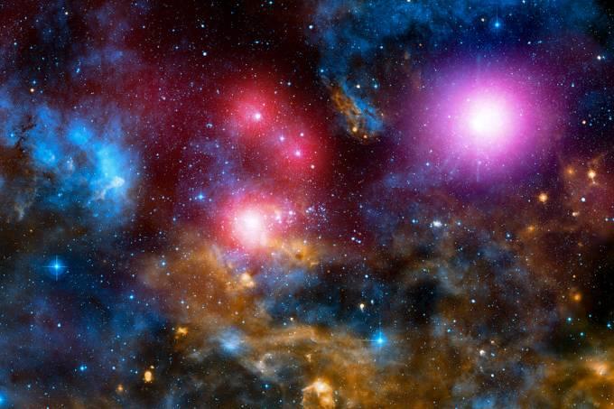 estrutura galáxias