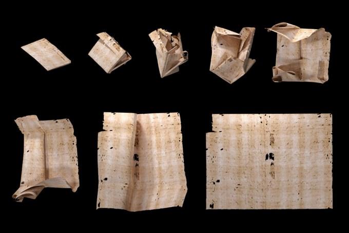 Raio-x revela conteúdo de cartas lacradas por 300 anos