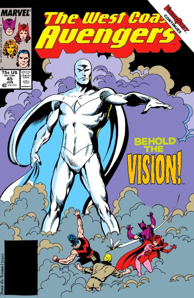 Capa de 'West Coast Avengers' Vol 2.