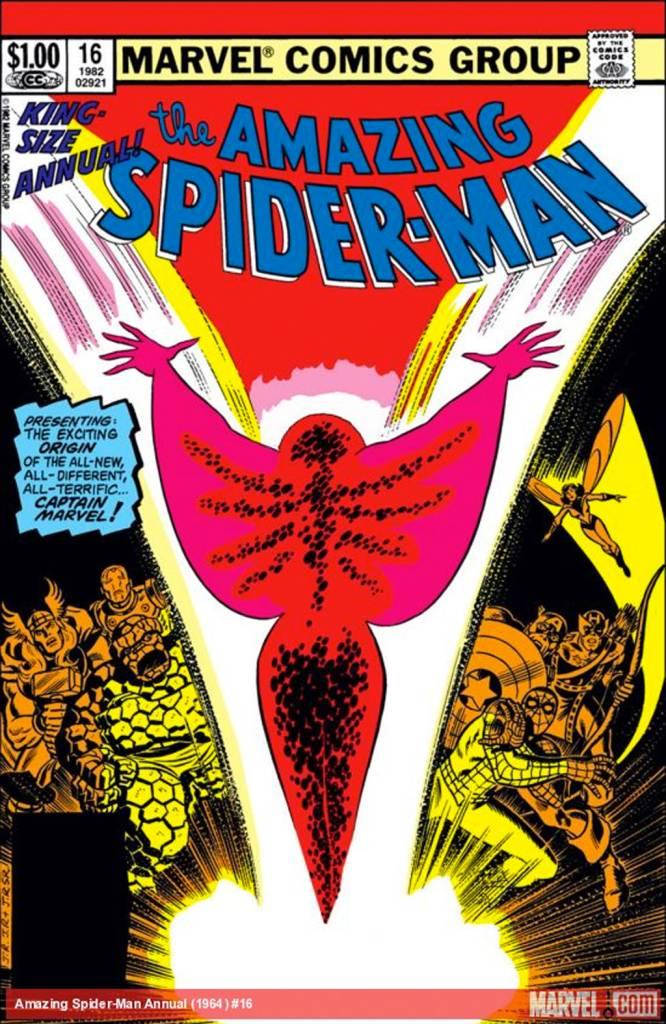 Capa de 'Amazing Spider-Man Annual' (1964).