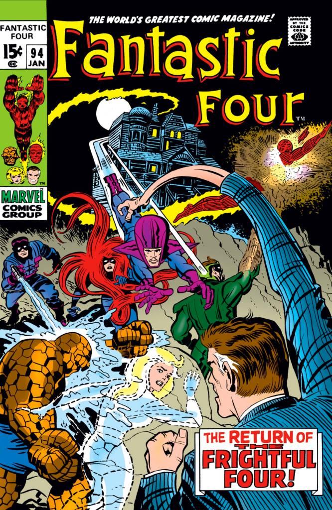 Capa do Vol. I de 'Fantastic Four'.