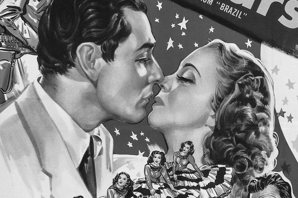 Poster do filme Brazil, de 1944.