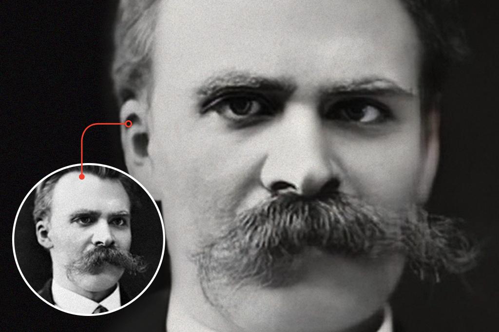 Imagem mostrando o antes e depois da alteração da foto.