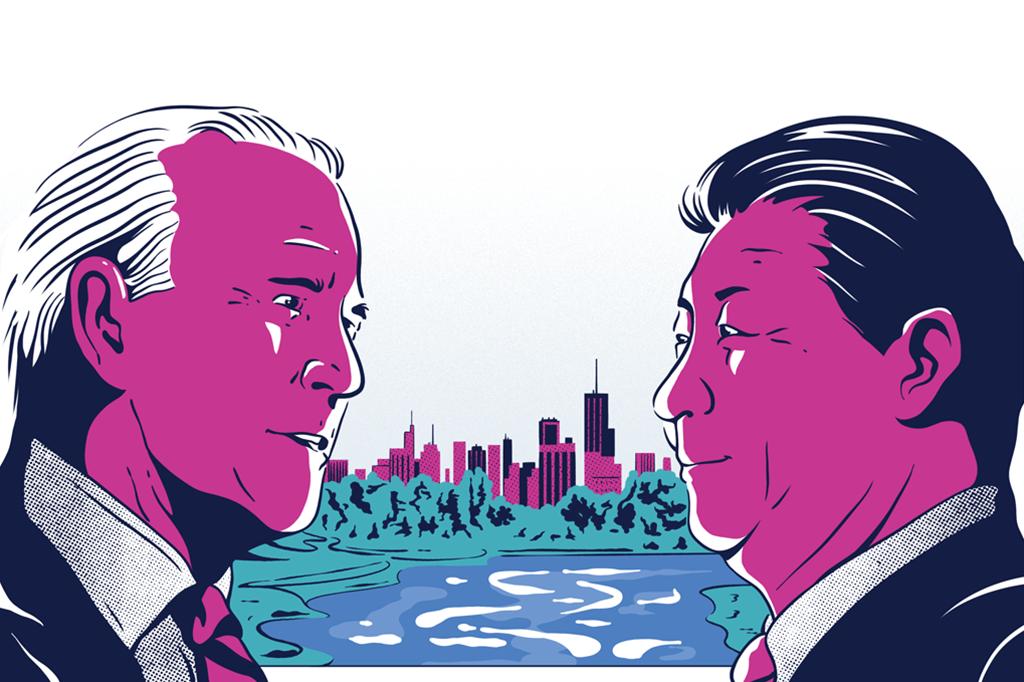 EUA e China: pela primeira vez, as duas potências têm o mesmo objetivo: neutralizar suas emissões de gases estufa até meados deste século.