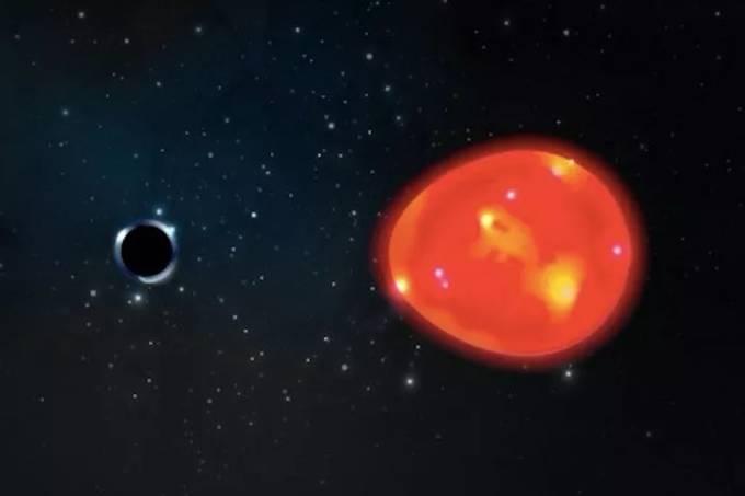 Um dos menores buracos negros já descobertos está bem próximo da Terra