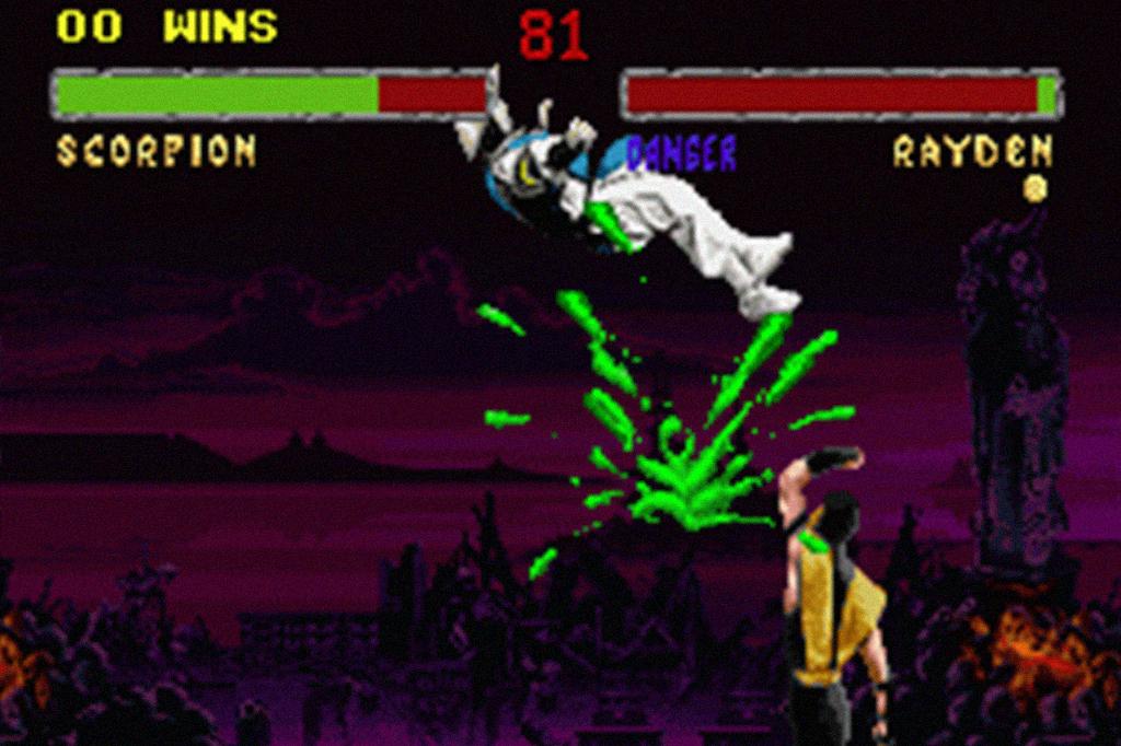 Imagem do jogo, Mortal Kombat.