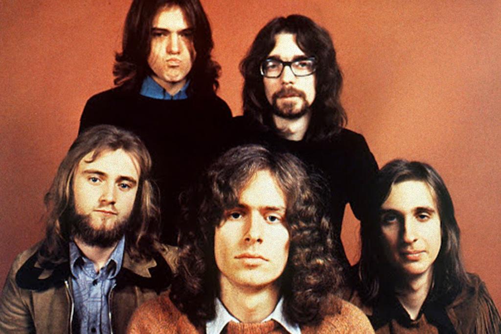 Foto da banda Genesis.