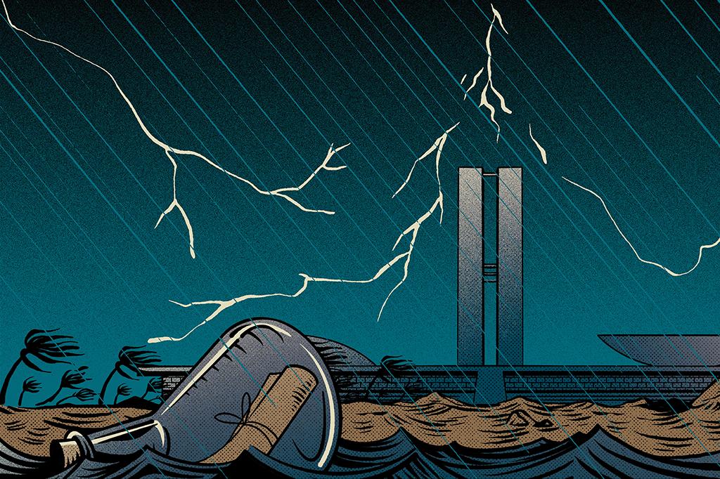 O tempo fechou em Brasília: orçamento em baixa, ataques à ciência em alta.