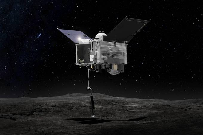 Sonda da Nasa com amostras do asteroide Bennu está voltando para a Terra