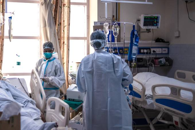 Fungo letal ataca pacientes de Covid na Índia