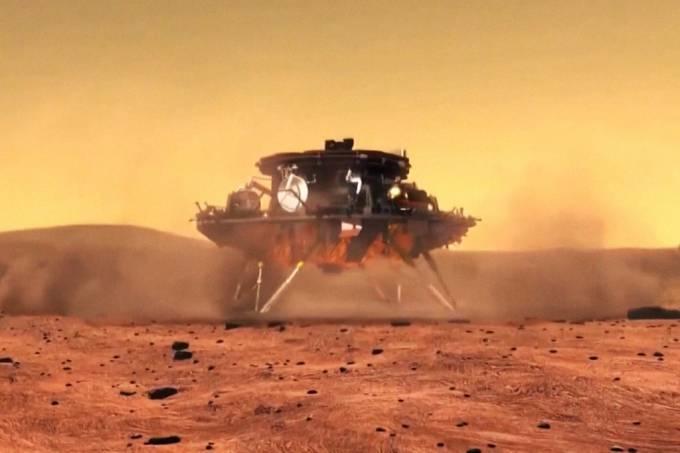 1ª sonda chinesa em Marte
