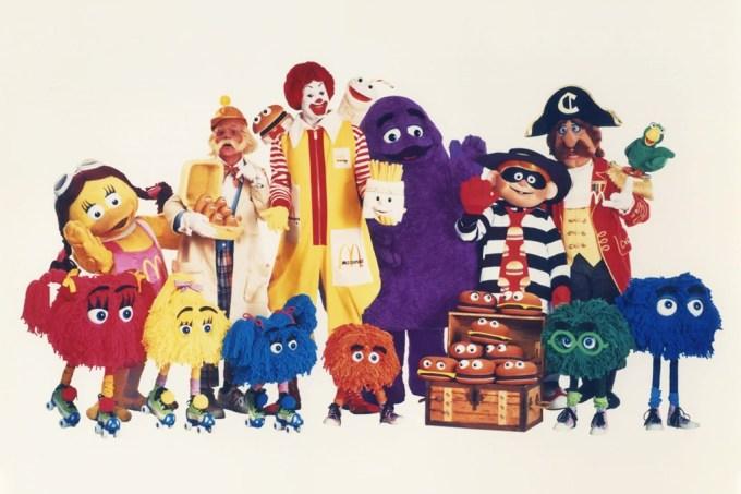 Arquivo | A origem dos amigos do Ronald McDonald (e que fim levaram)