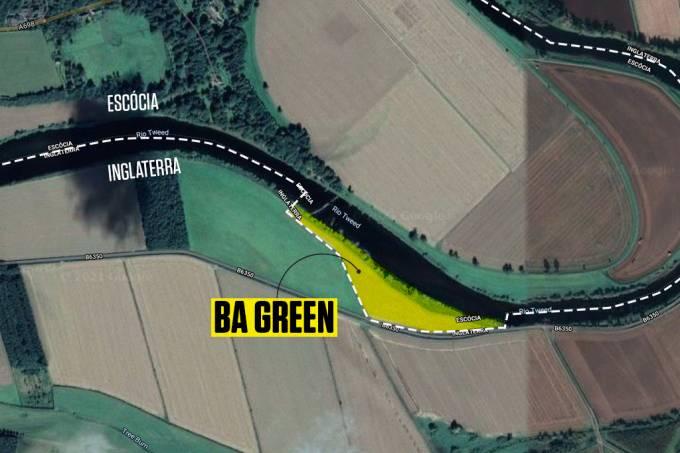 Ba Green: um território ganho pela Escócia num jogo de futebol medieval